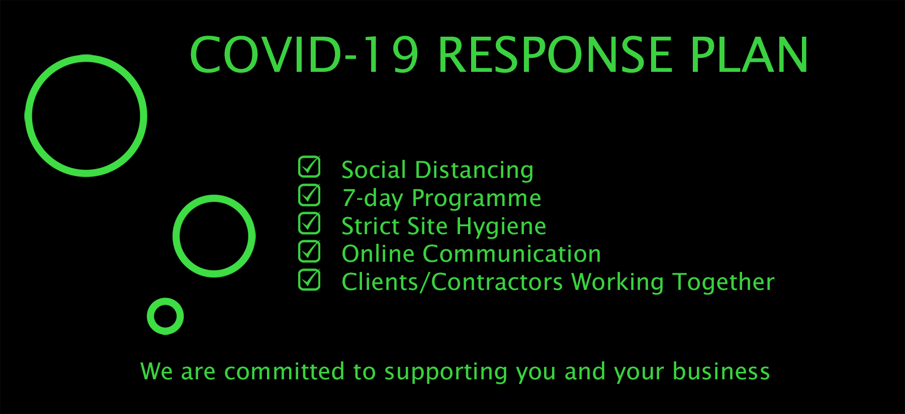 Green-core Covid-19 Response Plan