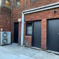 6. Doors painted