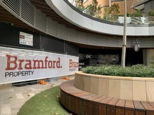2. Bramford Banner Installed